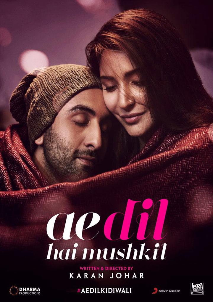 Watch Ae Dil Hai Mushkil (2016) Movie Online HD