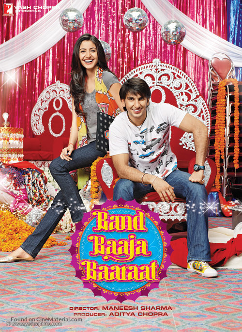 Band Baaja Baarat 2010 1080p  BD50 Untouched BluRay YrF DRs | 38 GB |