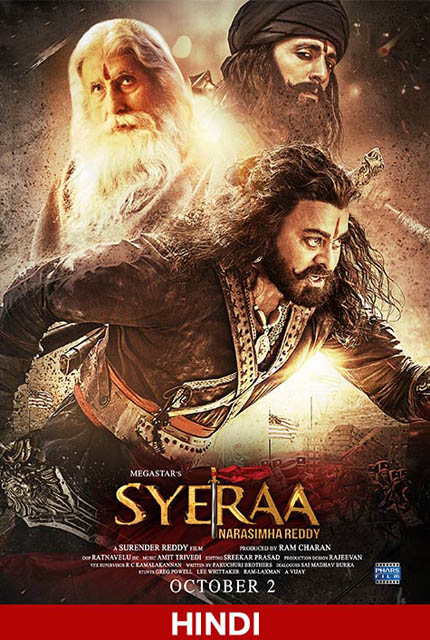 Sye Raa Narasimha Reddy 2019 Hindi Movie Online Hd