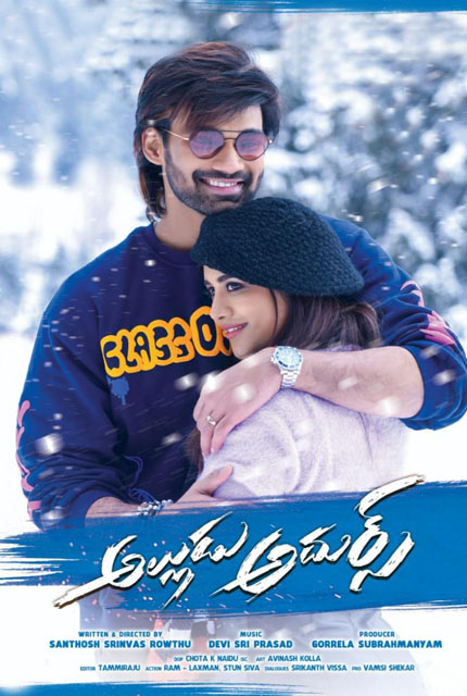 Alludu Adhurs 2021 Telugu 720p HDRip 1.4GB Download